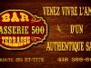 Affichage publicitaire Brasserie 500