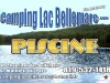 Affichage publicitaire Camping Lac Bellemare